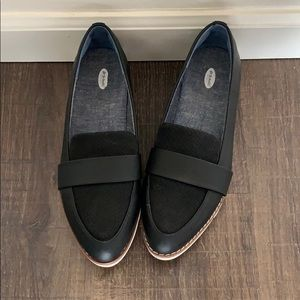 Black Loafers - size 8.5